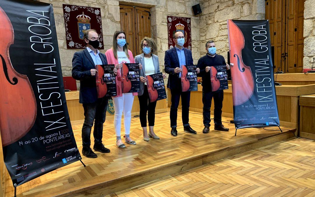 Presentación del IX Festival Groba en Ponteareas
